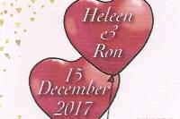 Huwelijk Ron en Heleen